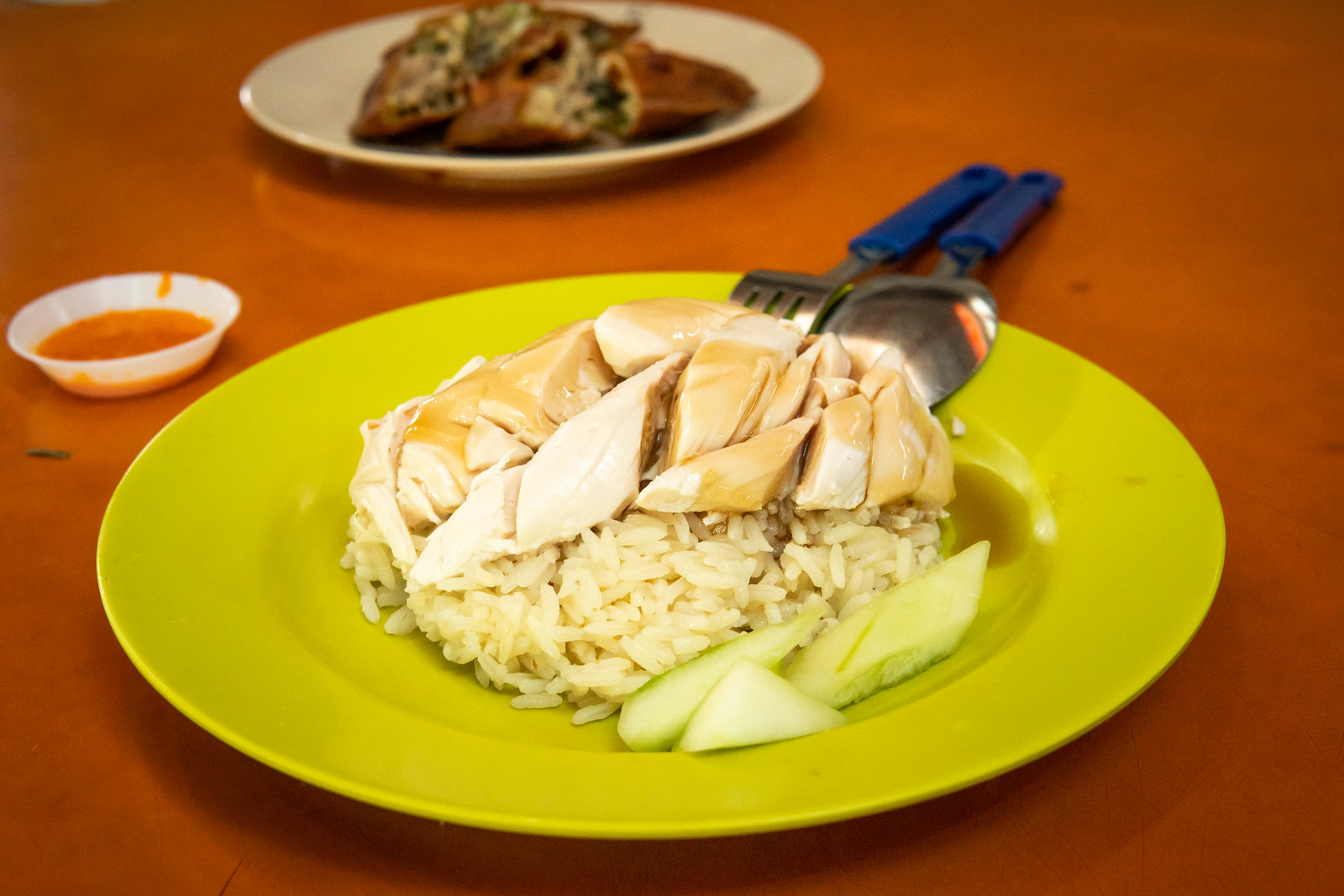 Tian Tian Hainanese Chicken Rice food 1