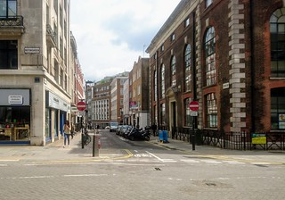 St Cross St from Hatton Garden