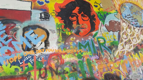 John Lennon Wall [Prague] | by The Drug Users Bible