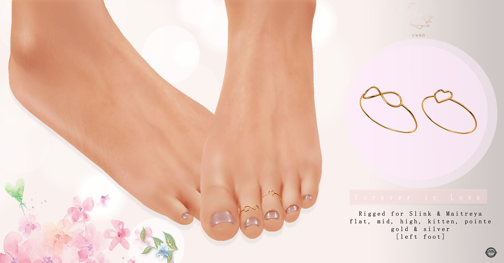 Forever in Love Toe Rings