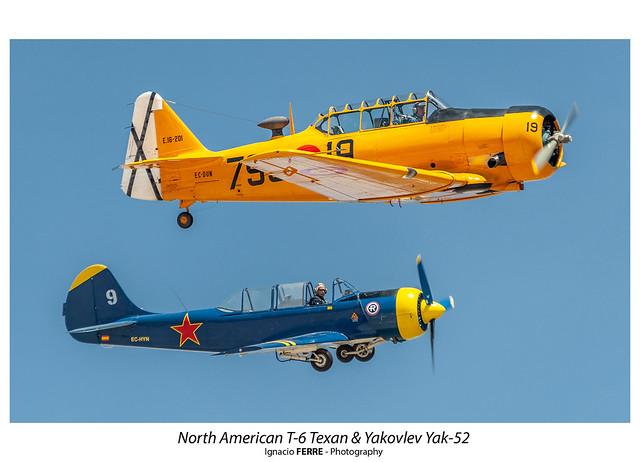 T-6 & Yak-52