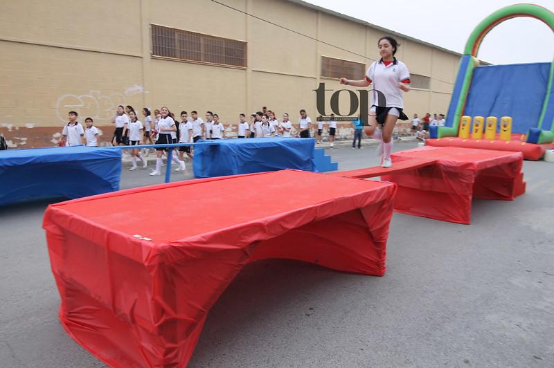 A prueba el espíritu deportivo de los alumnos