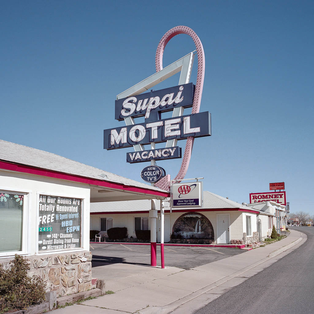 supai motel / route 66. seligman, az. 2015. | mamiya 6MF 50m… | Flickr