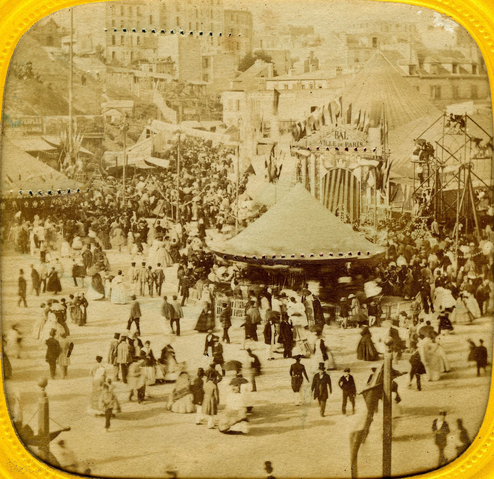 1870. Ярмарка на Монмартре