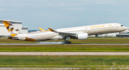 Airbus A350-1000 Etihad A6-XWB | by French_Painter