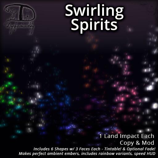 Swirling Spirits - TeleportHub.com Live!