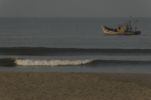 asia beach bhāratgaṇarājya boat boats evening goa india indianocean landscape landscapes parkhyatt republicofindia