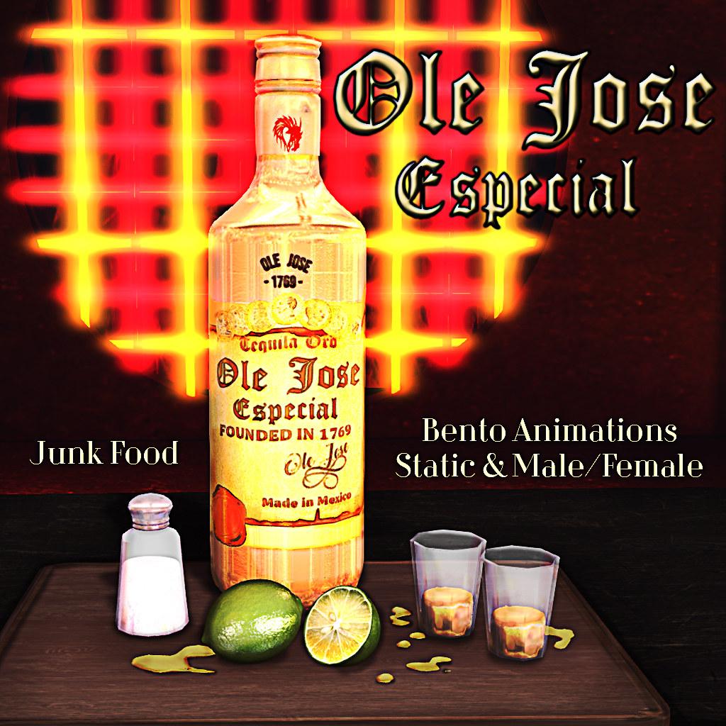 Junk Food - Ole Jose Tequila - TeleportHub.com Live!