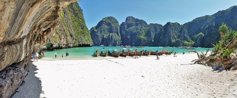 Phi Phi ley. Maya Bay.