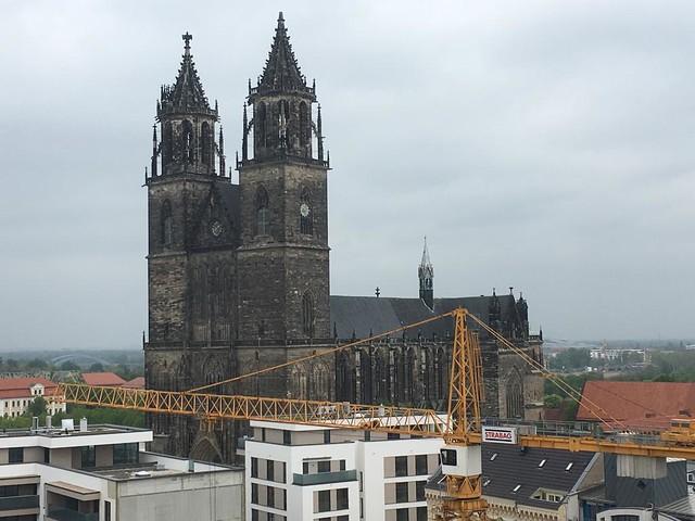 1209/1520 Magdeburg erster gotischer Dom Deutschlands St. Mauritius und St. Katharina 101mH Domplatz in 39104 Mitte