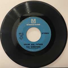 THE WINSTONS:COLOR HIM FATHER(RECORD SIDE-A)