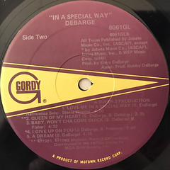 DEBARGE:IN A SPECIAL WAY(LABEL SIDE-B)