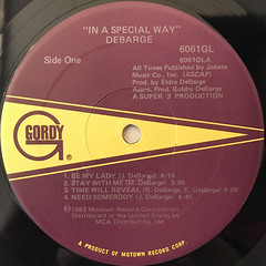 DEBARGE:IN A SPECIAL WAY(LABEL SIDE-A)