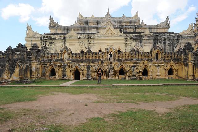 Maha Aungmye Bonzan Monastery, Ava, Myanmar (Birmania) D700 1317