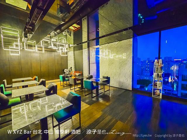 W XYZ Bar 台北 中山 雅樂軒 酒吧 66