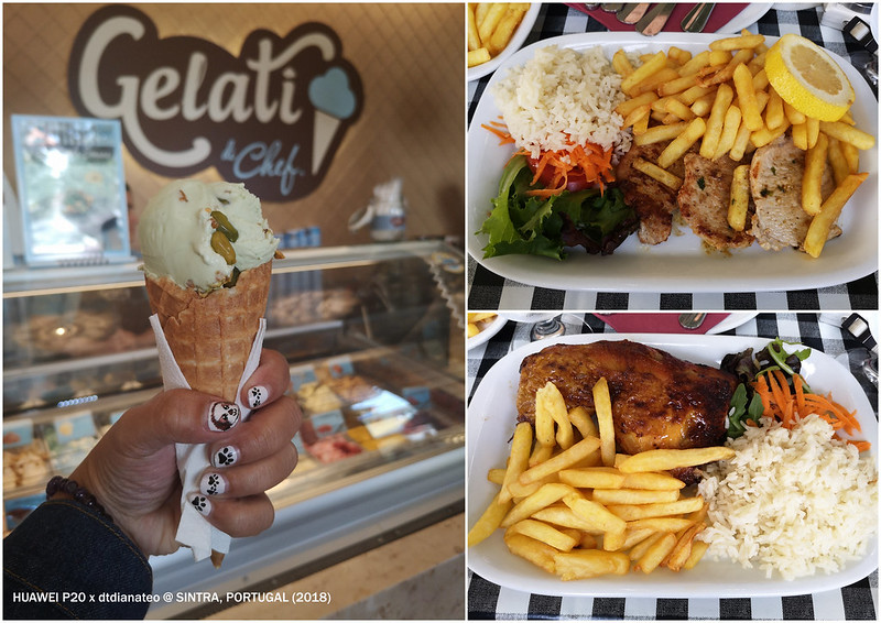 2018 Portugal Sintra Lunch & Gelato