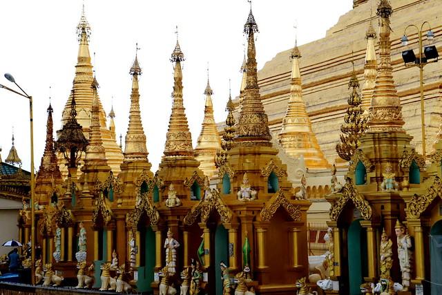 Visitar Pagoda Shwedagon