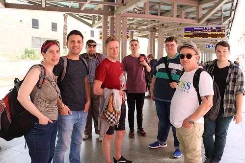 ESCKAZ.com team day out in Jerusalem