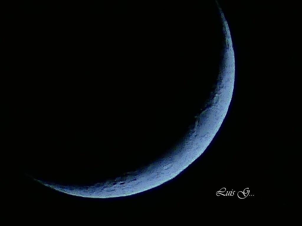 luna de hoy en su fase inicial cuarto creciente, | Luis ...