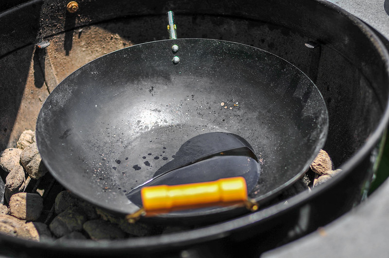 Wok on Grill