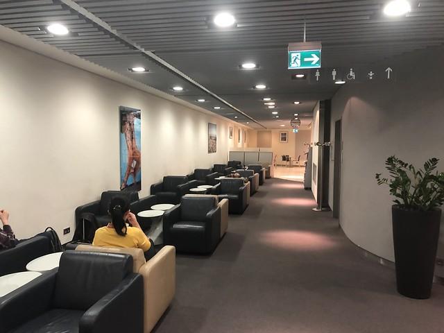 Lufthansa Business Lounge Roissy T1