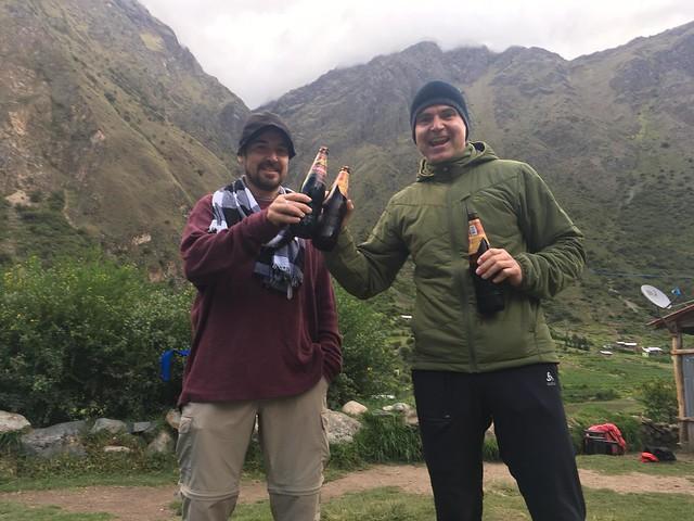 IncaTrail - Wayllabamba (ultima cerveza)