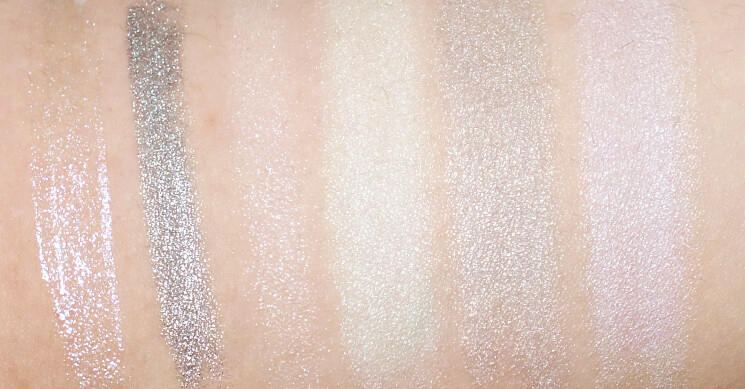 hard candy glow makers swatches