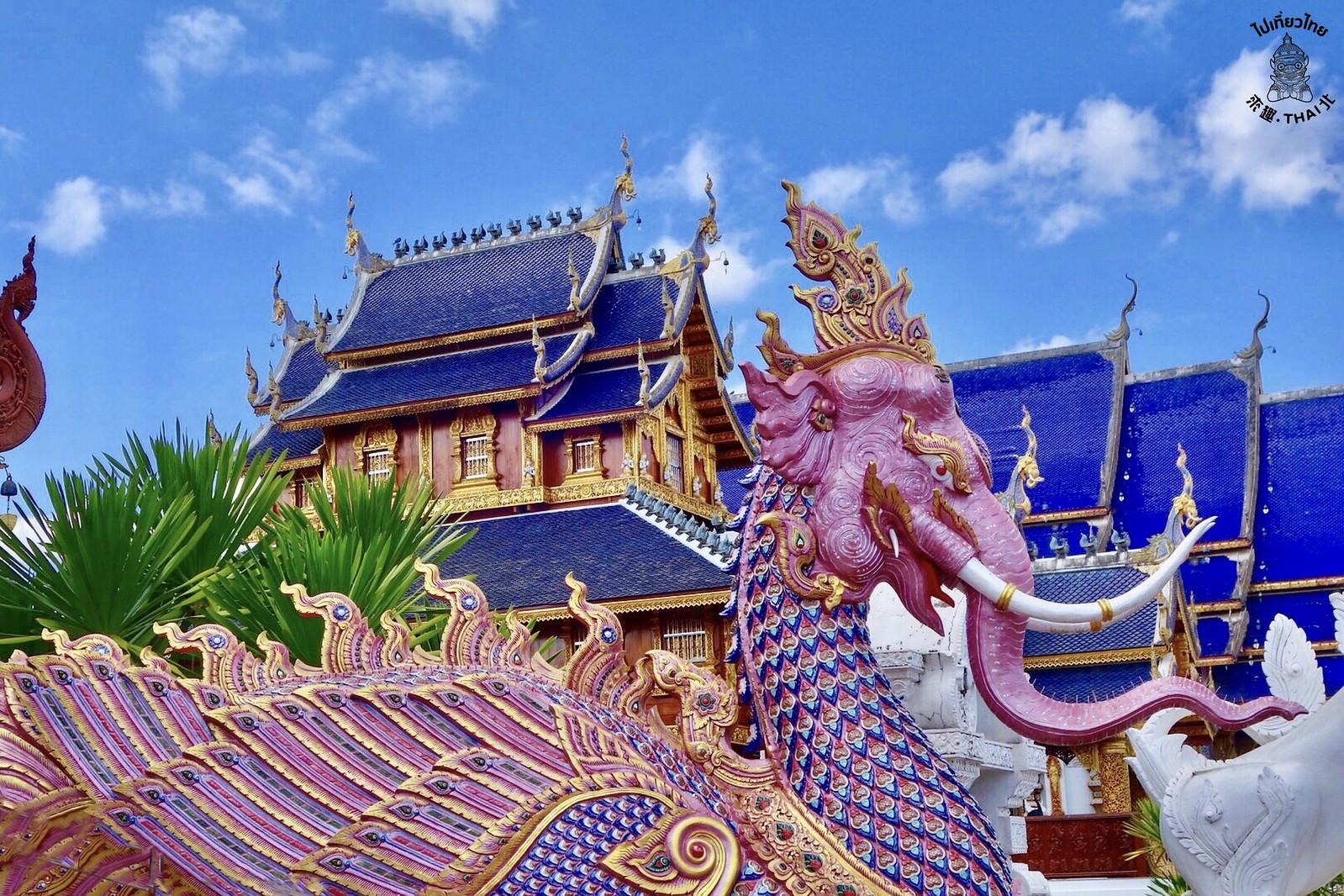 清邁.藍廟 Wat Ban Den วัดบ้านเด่น