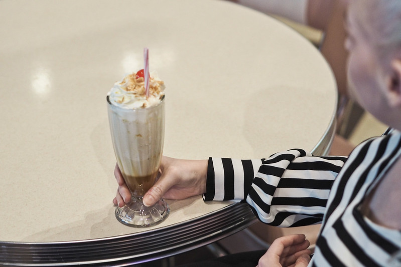 daddys diner milkshake