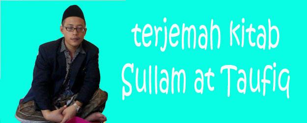 Terjemah Kitab Sulam Taufiq