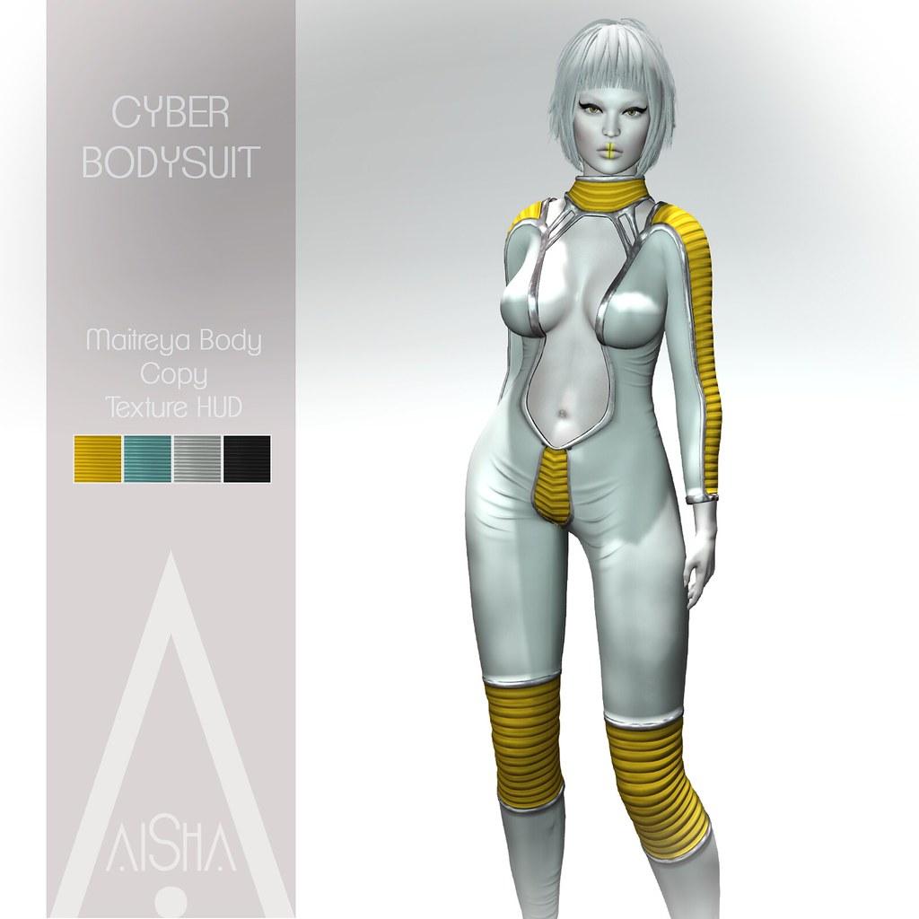 .AiShA. Cyber bodysuit @Cyberpunk