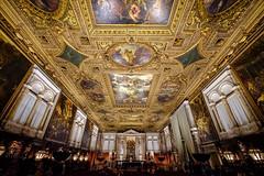 Ceiling of the Scuola Grande di San Rocco