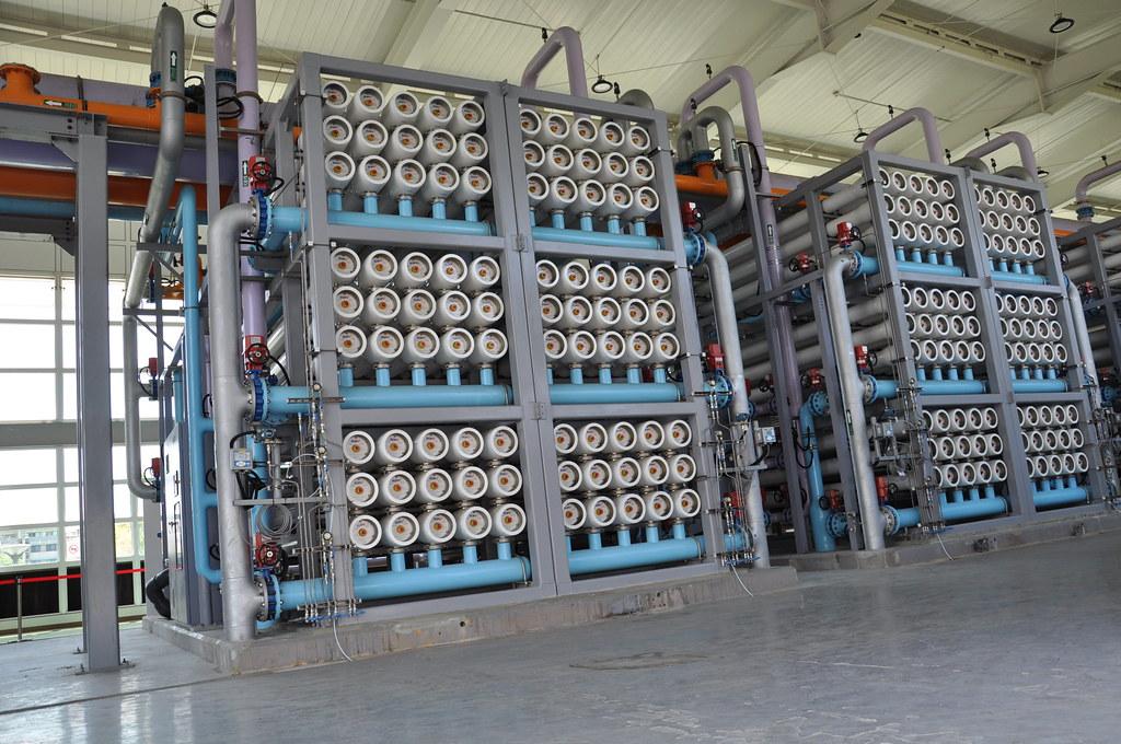 鳳山水資源中心二期工程將於8月啟運。孫文臨攝。