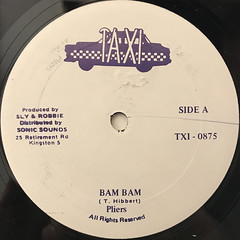 PLIERS:BAM BAM(LABEL SIDE-A)
