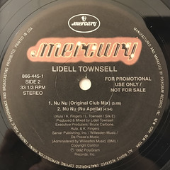 LIDELL TOWNSELL:NU NU(LABEL SIDE-B)
