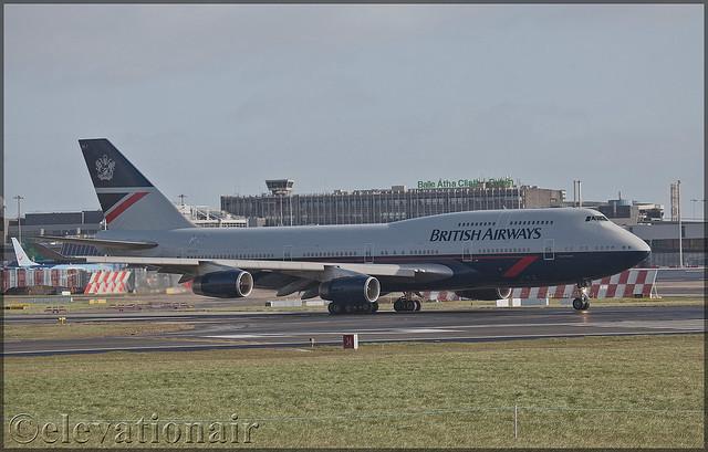 G-BNLY Boeing 747-436 British Airways (Landor Retro Livery)