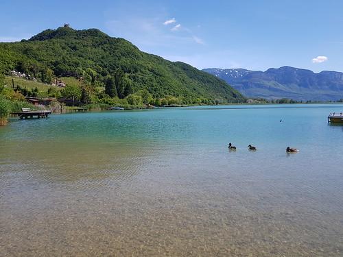 Wanderung auf die Leuchtenburg am Kalterer See