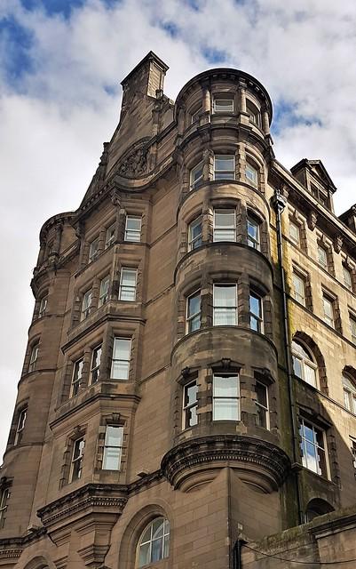 Edinburgh - Market Street Building
