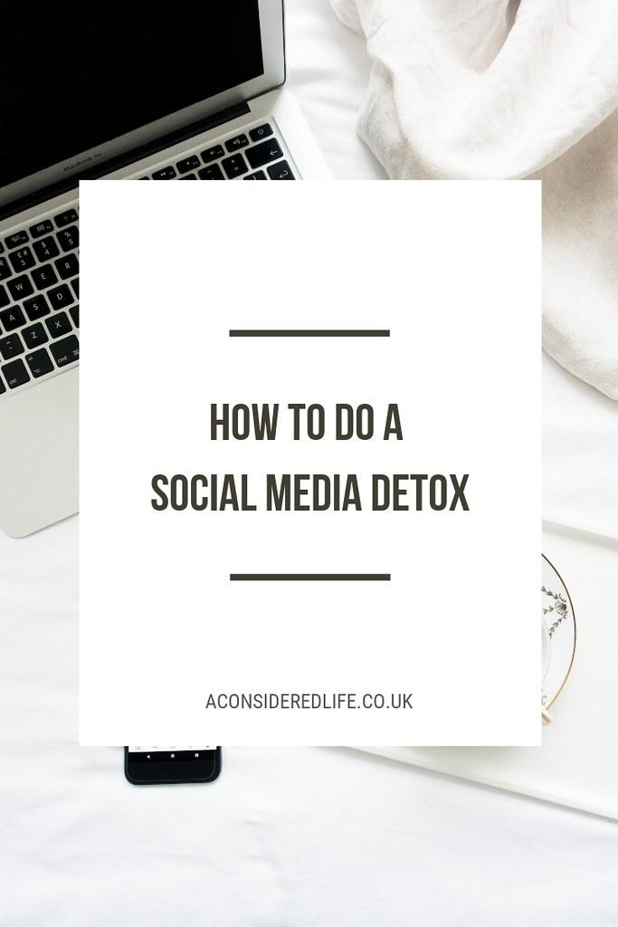 A Social Media Detox