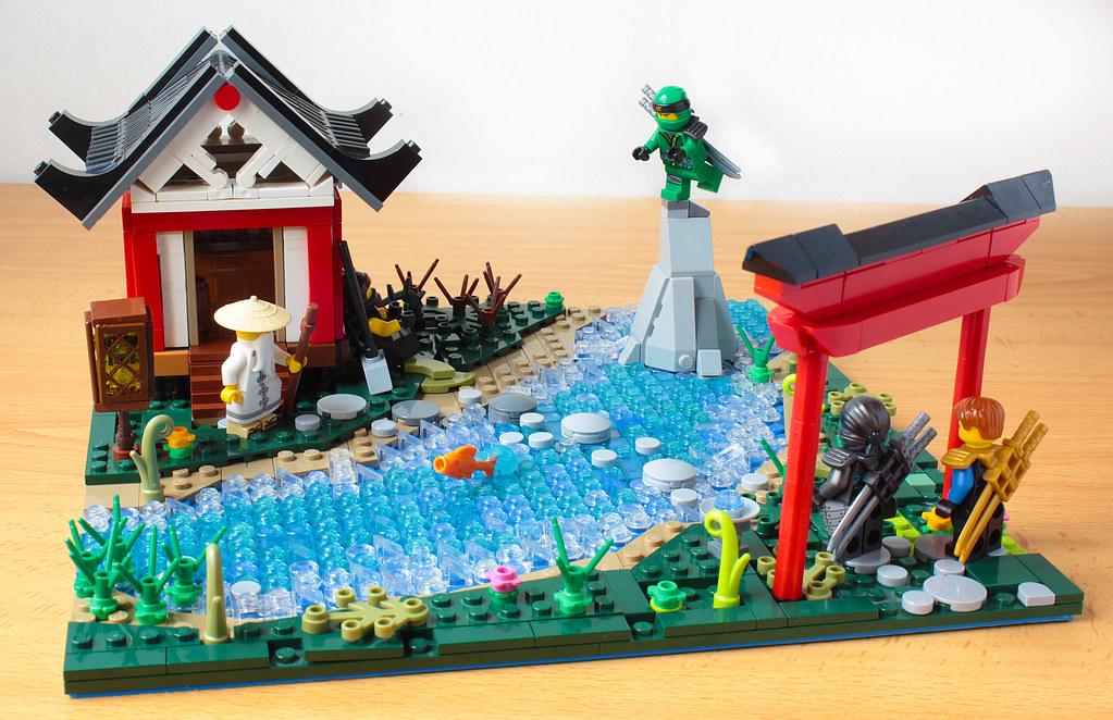 Lego Ninjago Scenery So I Was Playing Sekiro And I It In