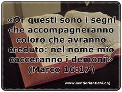 Solo i veri cristiani possono cacciare i demoni