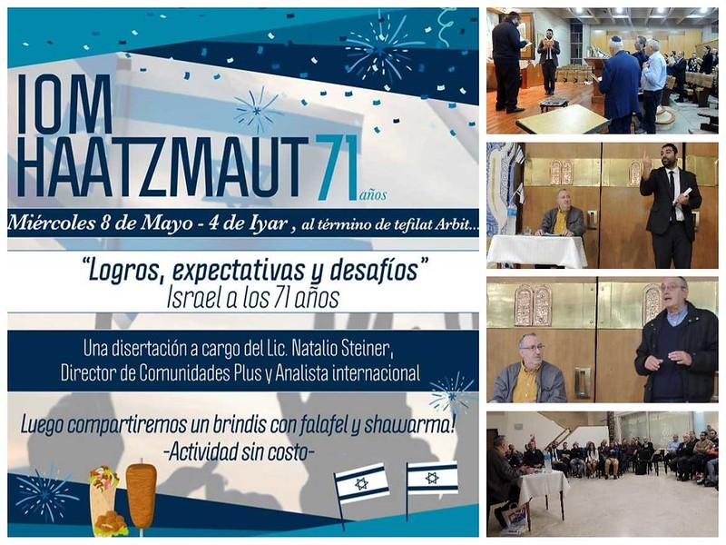 Iom Haatzmaut 2019 / 5779 en Agudat Dodim