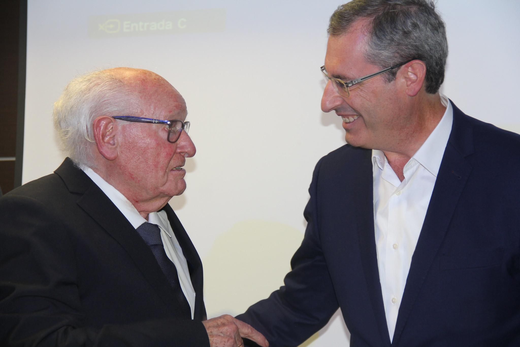 Reconocimiento y homenaje a Alfonso Gorroñogoitia y José María Ormaetxea