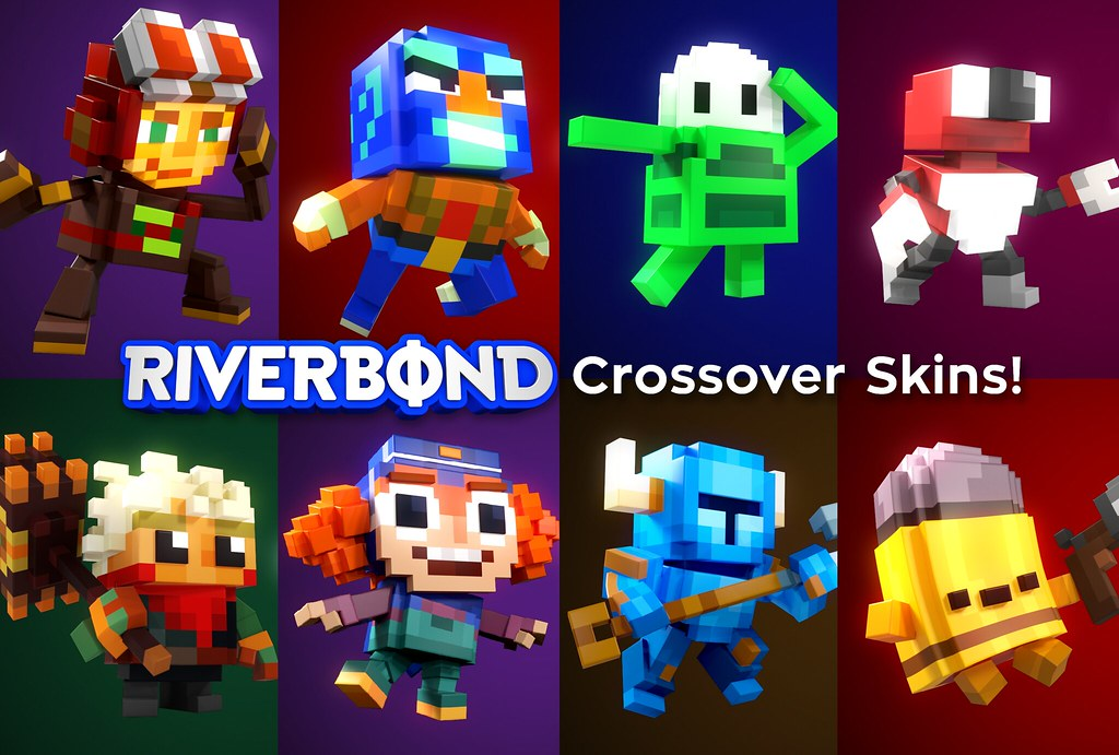 33936850148 cf6be3834c b - Riverbond ist ein Voxel-Shoot-and-Slash-Spiel mit Indie-Crossovern
