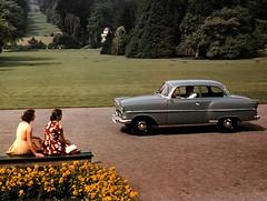1957 Opel Olympia Rekord by Martin van Duijn