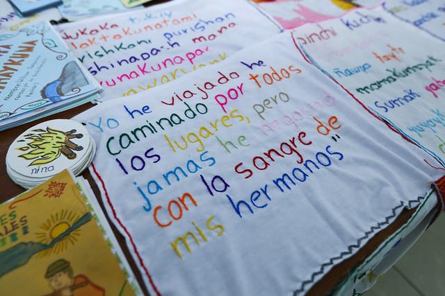 Homenaje a Tránsito Amaguaña - Quito