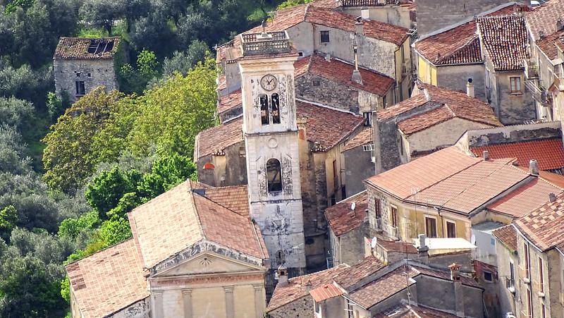 Veduta da San Sepolcro Campanile S. Giovanni