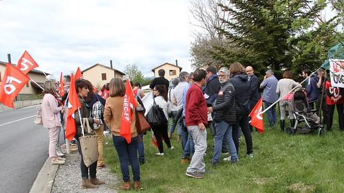 Rassemblement militant FO66 en soutien de la MAS du Nid Cerdan | by UDFO66