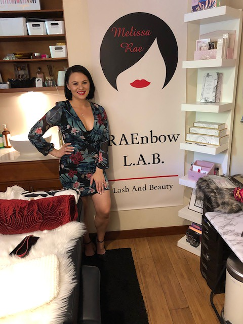 May 9, 2019 - Ribbon Cutting at RAEnbow Lash & Beauty