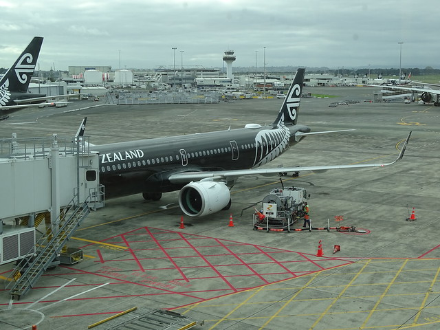 Air New Zealand Airbus A321NEO ZK-NNA